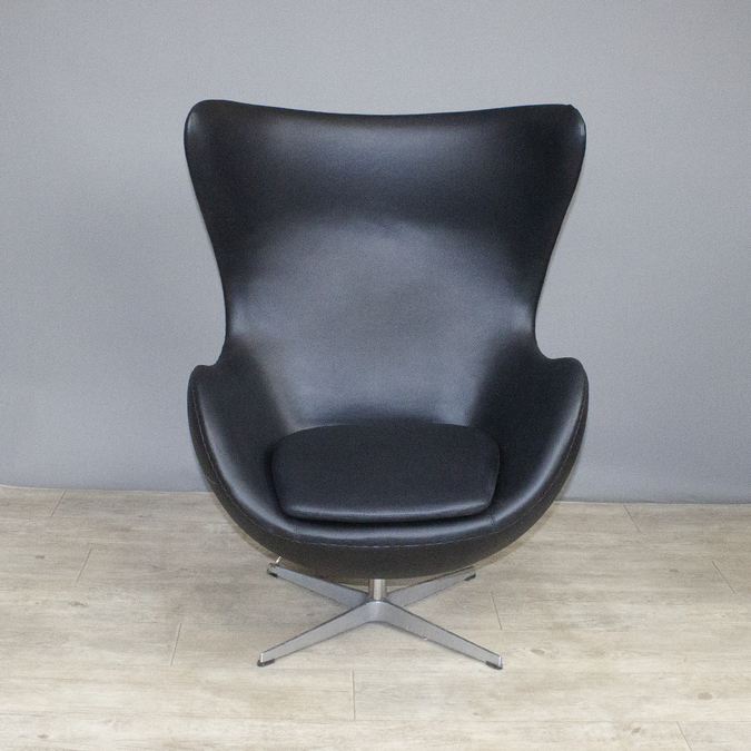Кресло Egg Chair Black фото