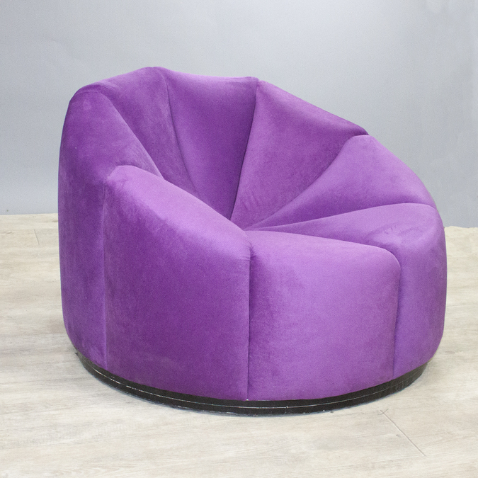 Кресло Velvet Purple Pouf фото