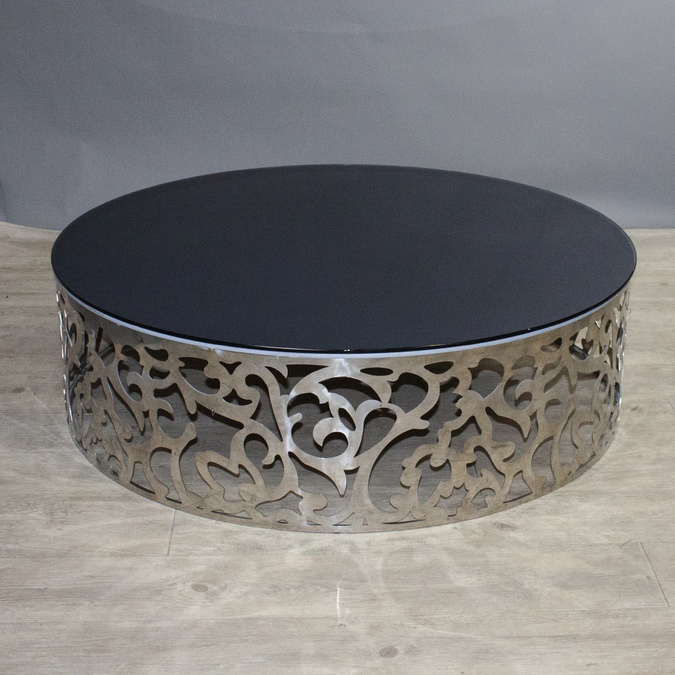 Журнальный столик Tiffany Table Silver фотография
